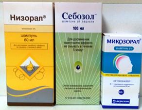 Шампуни на основе кетоконазола